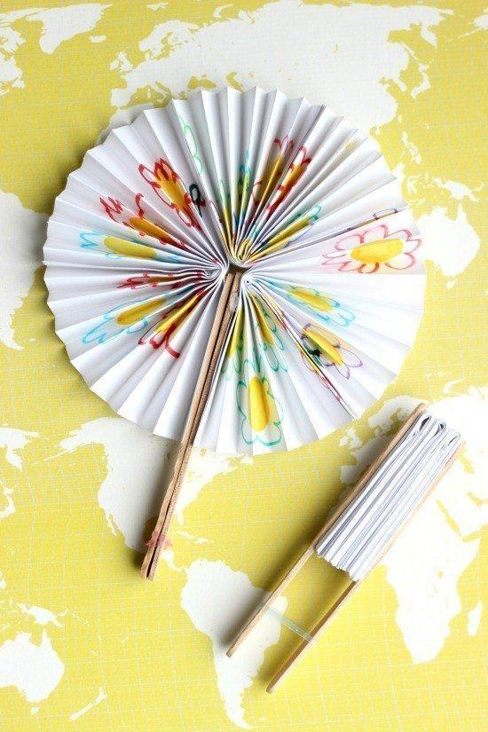 Popsicle Stick Fan