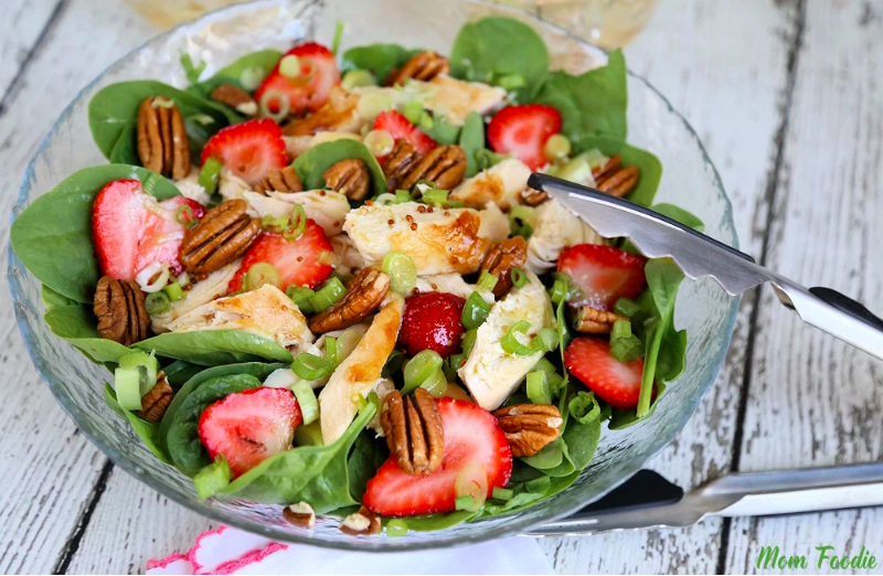 Strawberry Pecan Chicken Salad