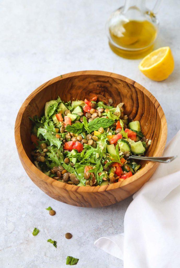 Mint Lentil Salad