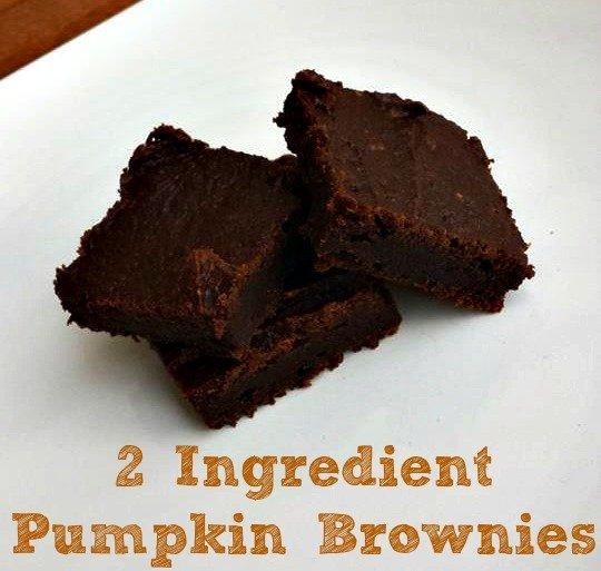 2-Ingredient-Pumpkin-Brownies