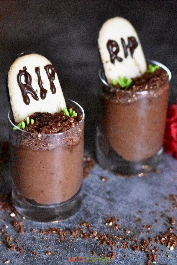 Chocolate Mousse Graveyard