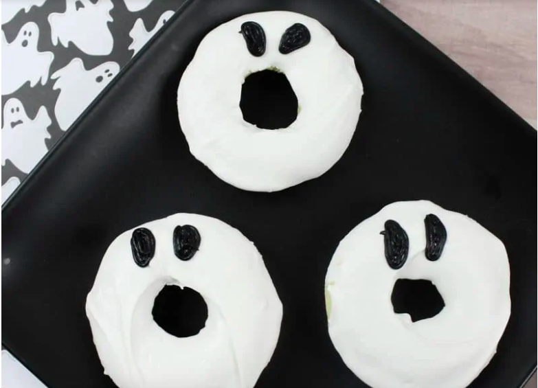 Easy Ghost Doughnuts