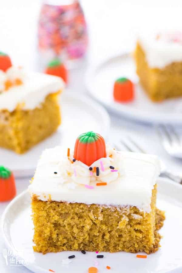 Gluten-Free Pumpkin Cake With Cream Cheese Frosting