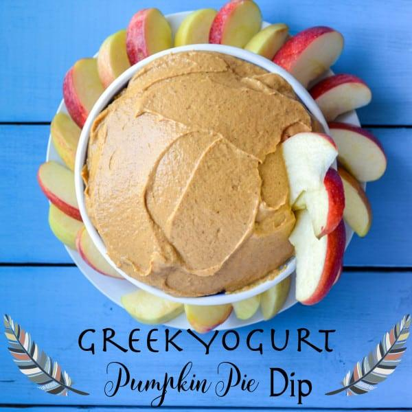 greek yogurt pumpkin pie spice dip