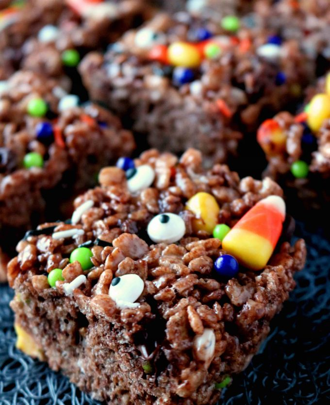 cocoa halloween rice krispies
