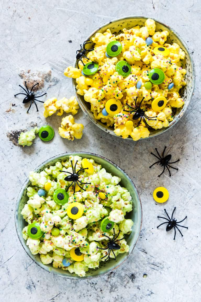 Monster Halloween Popcorn