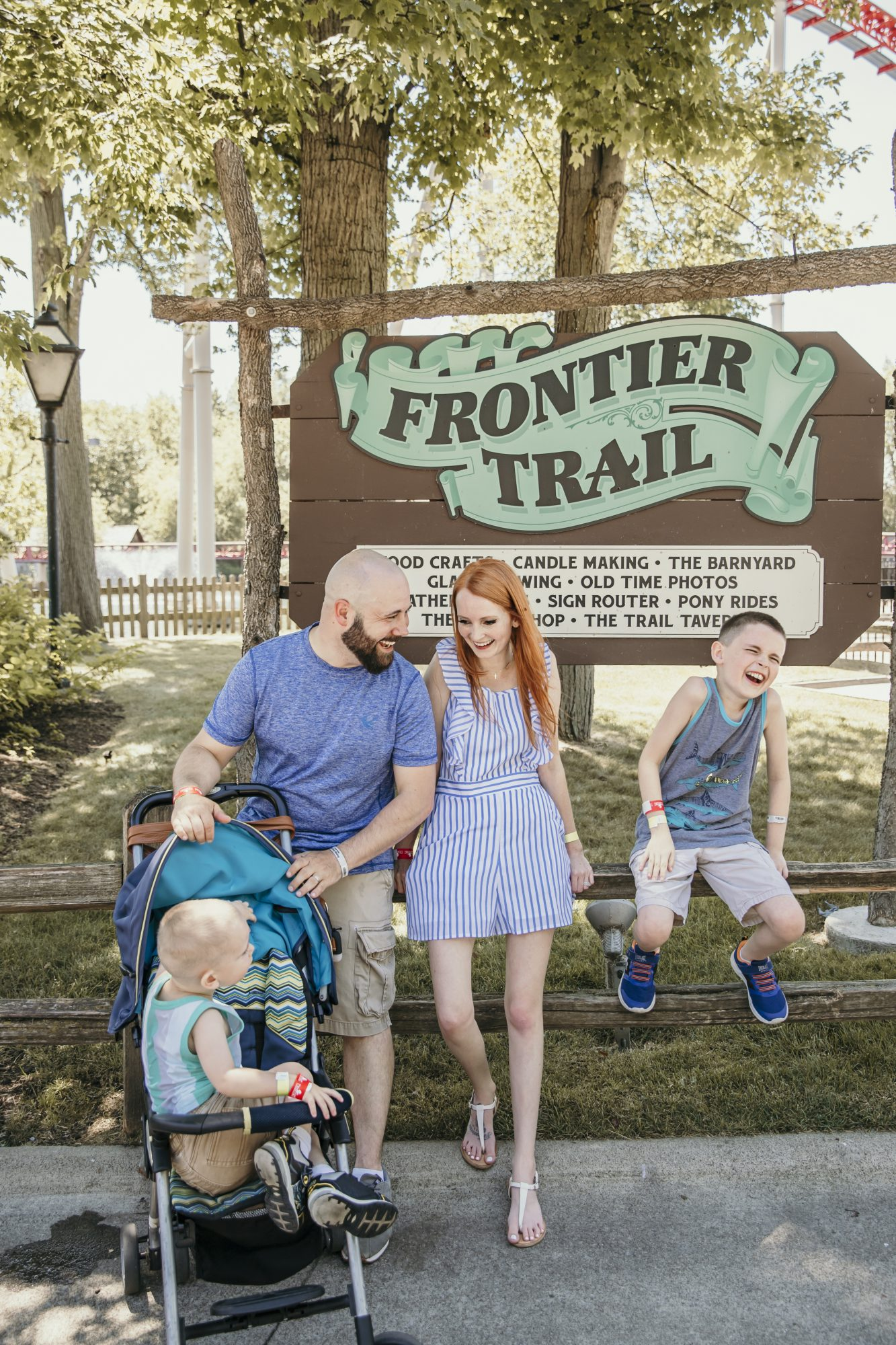 family time in frontier town