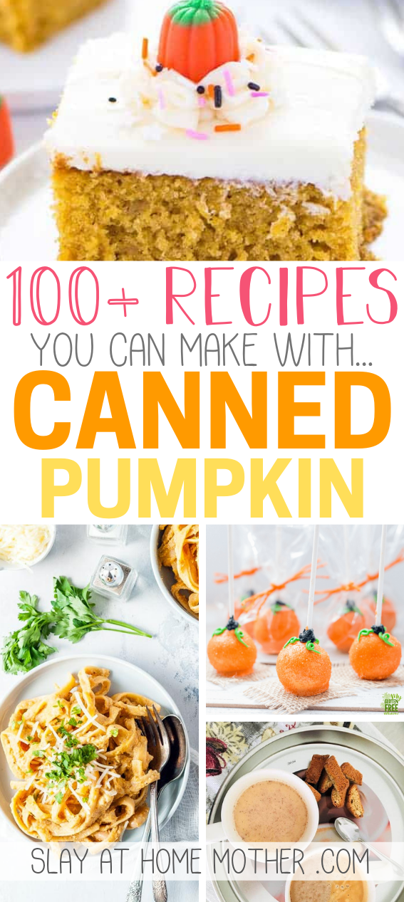 100+ canned pumpkin recipes