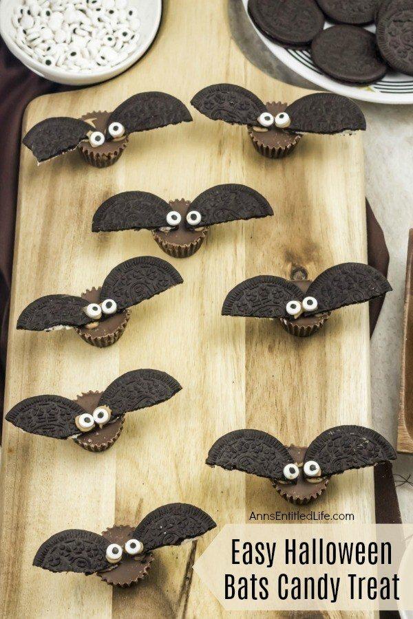 Easy Halloween Bats