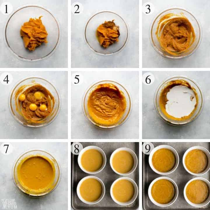 healthy paleo pumpkin custard