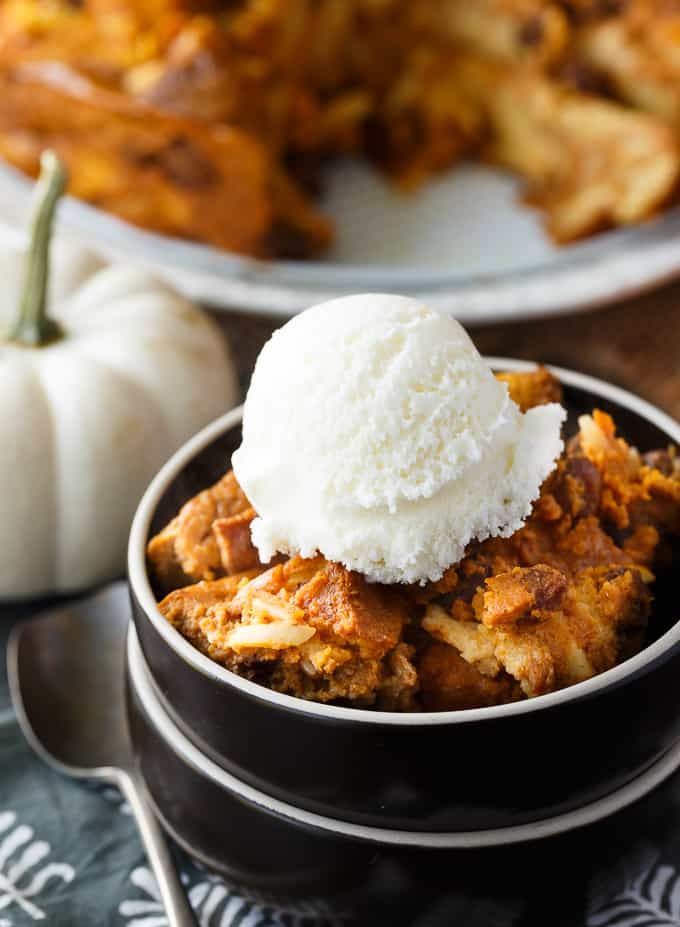 pumpkin-bread-pudding
