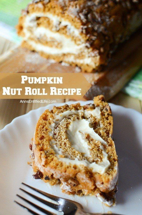 pumpkin nut roll
