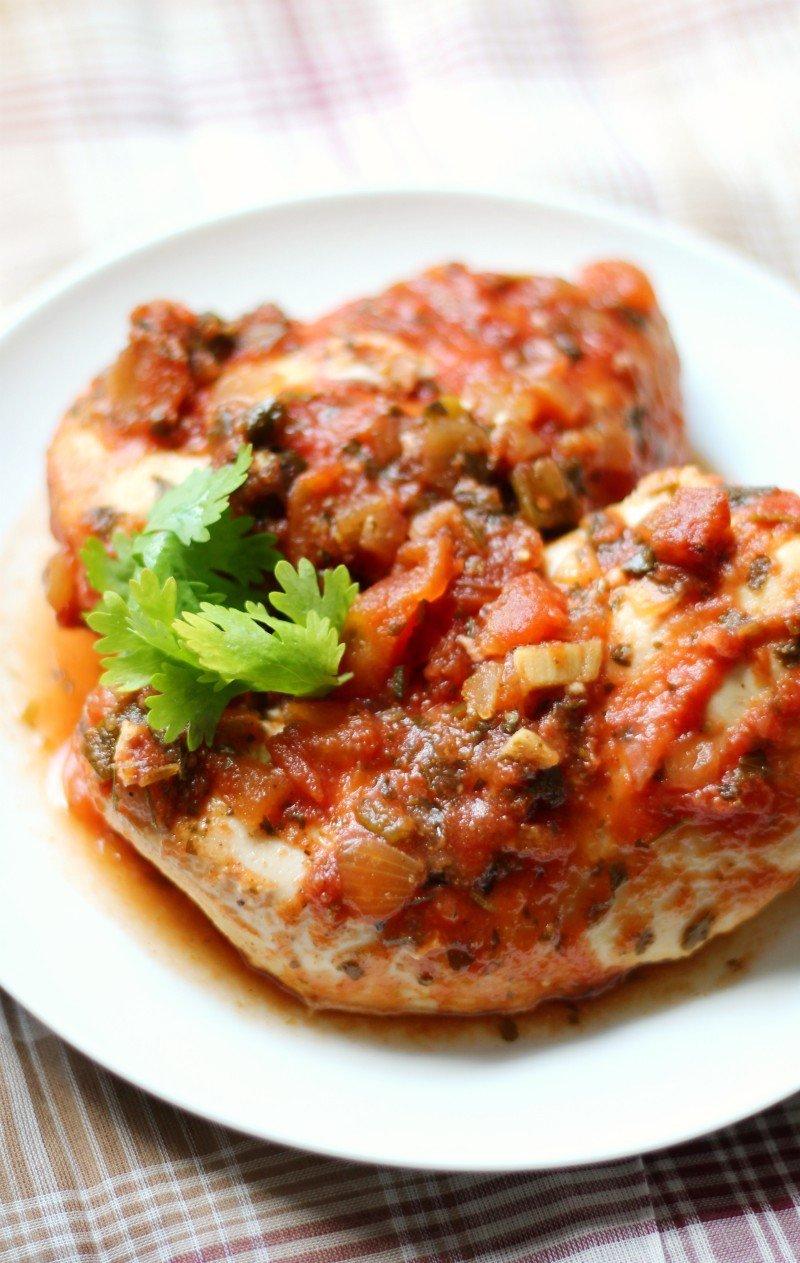 Slow-Cooker-Salsa-Chicken