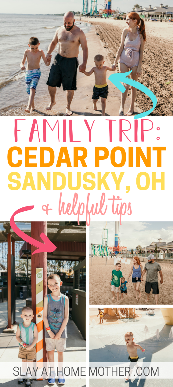 family trip to cedar point, oh