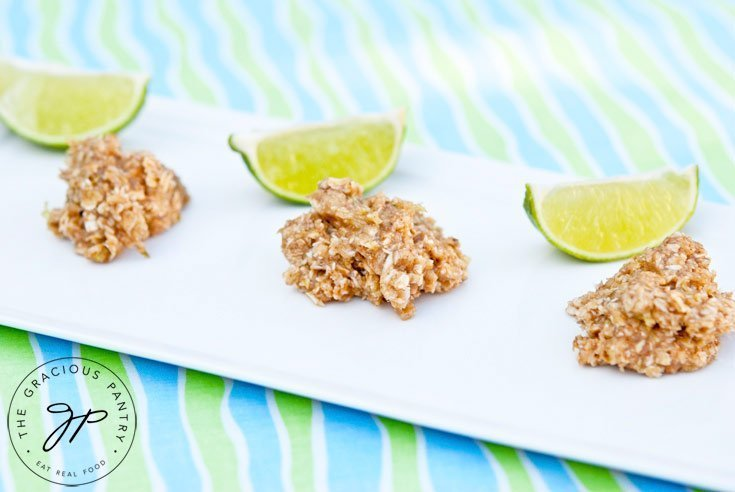 coconut-lime-no-bake-cookies