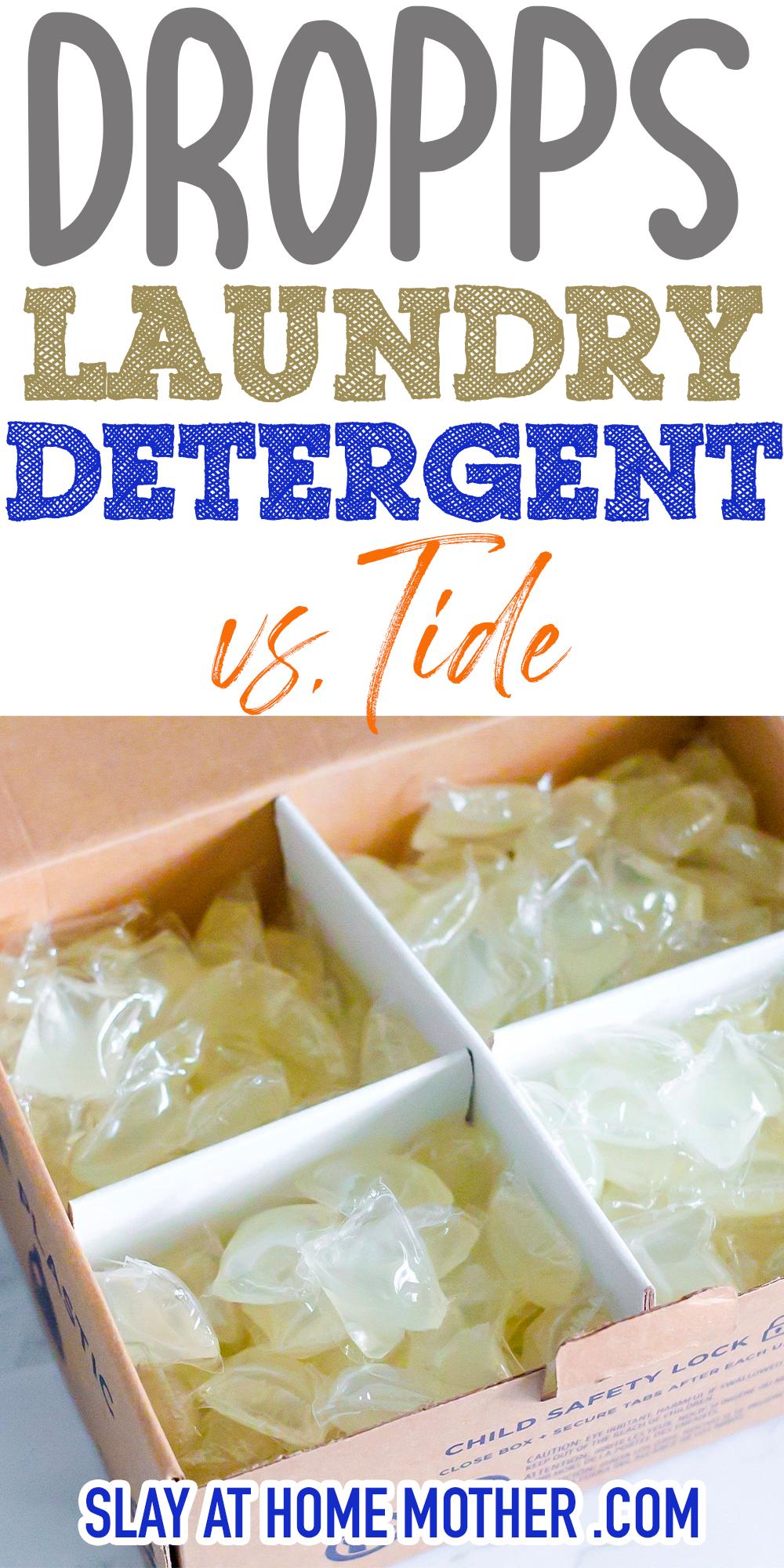 dropps vs. tide