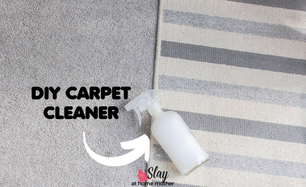 Diy Carpet Cleaner With Just Two Household Ingredients