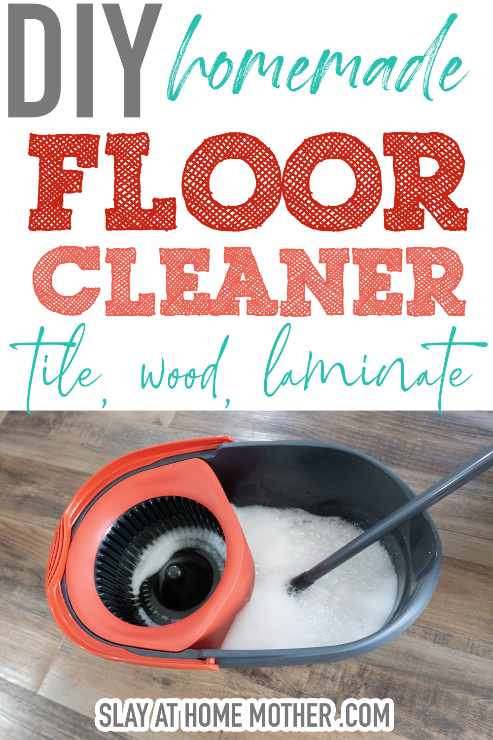 Homemade Floor Cleaner (Great For Tile
