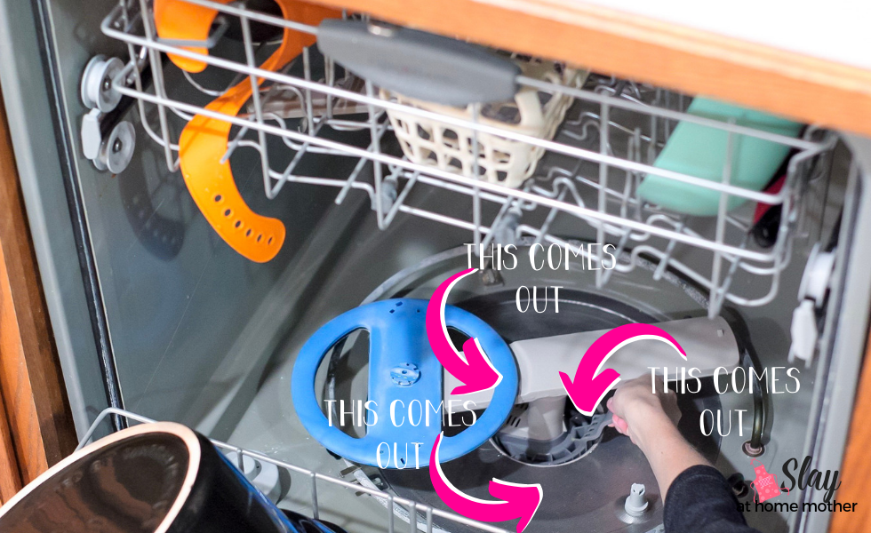 how to clean your dishwasher parts