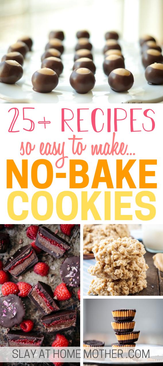 no-bake cookie recipes
