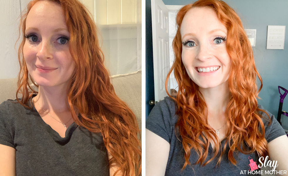 1 month transition curly girl method