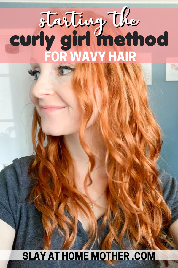 curly girl method for wavy hair