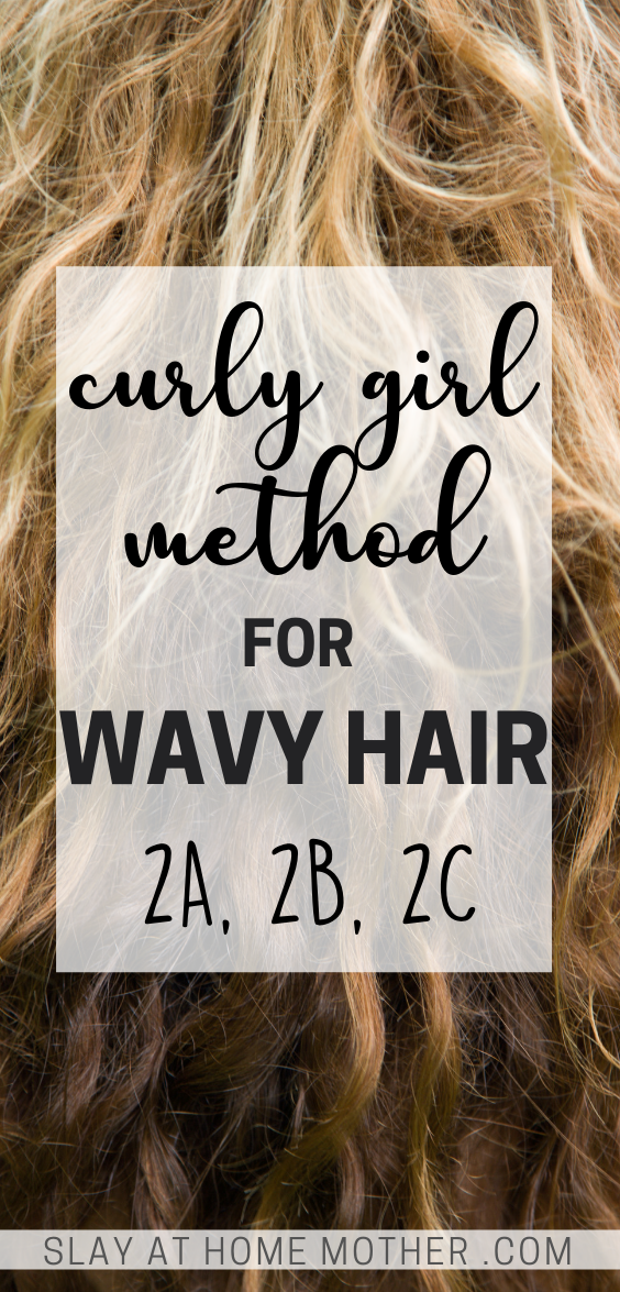 curly girl method wavy hair