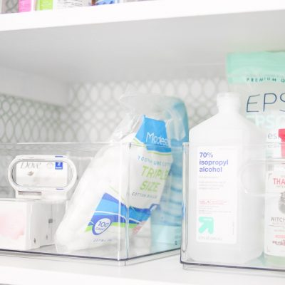 Easy Bathroom Organization & Linen Closet Refresh