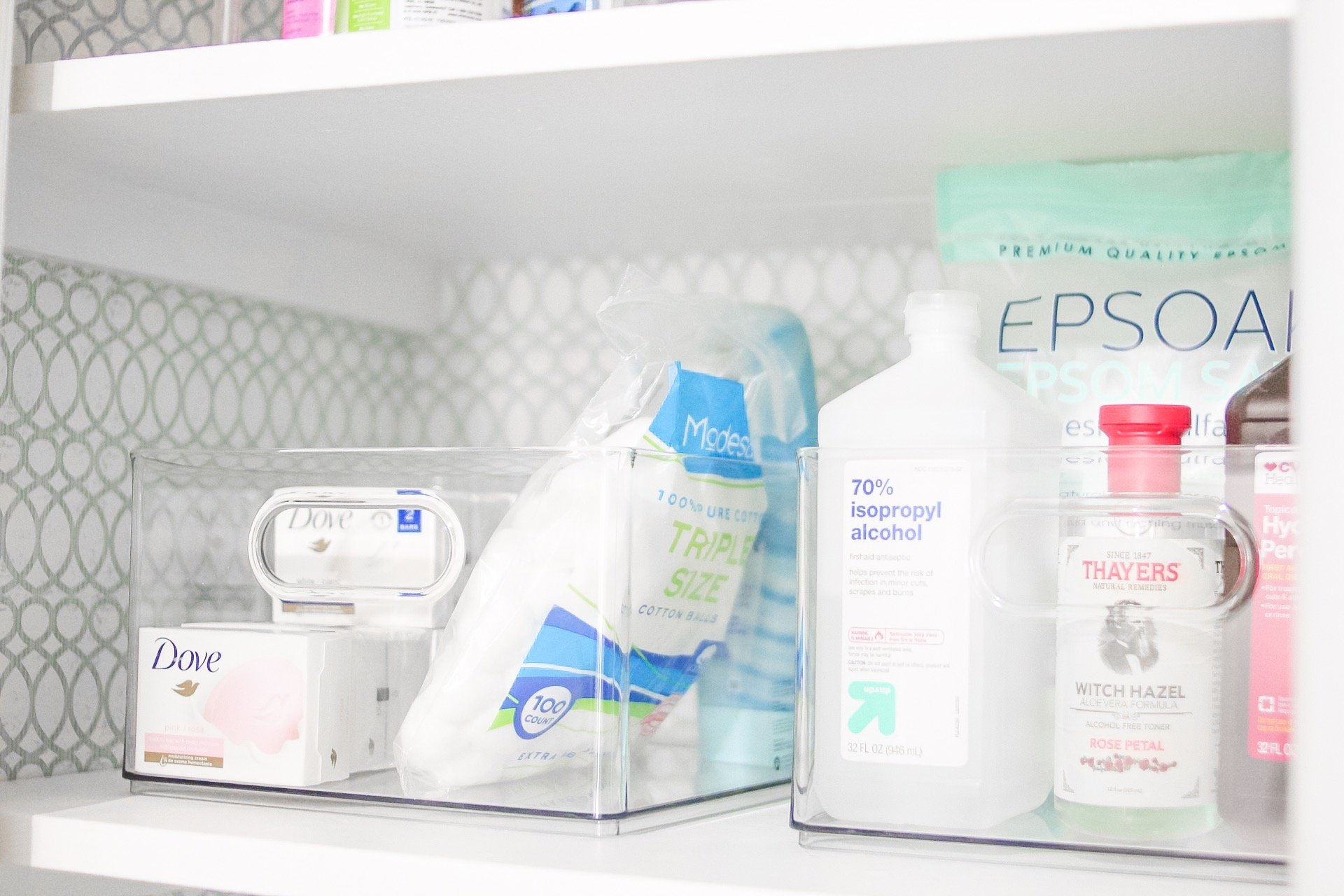 Easy Bathroom Organization Linen Closet Refresh