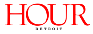 Featured in Hour Detroit Magazine