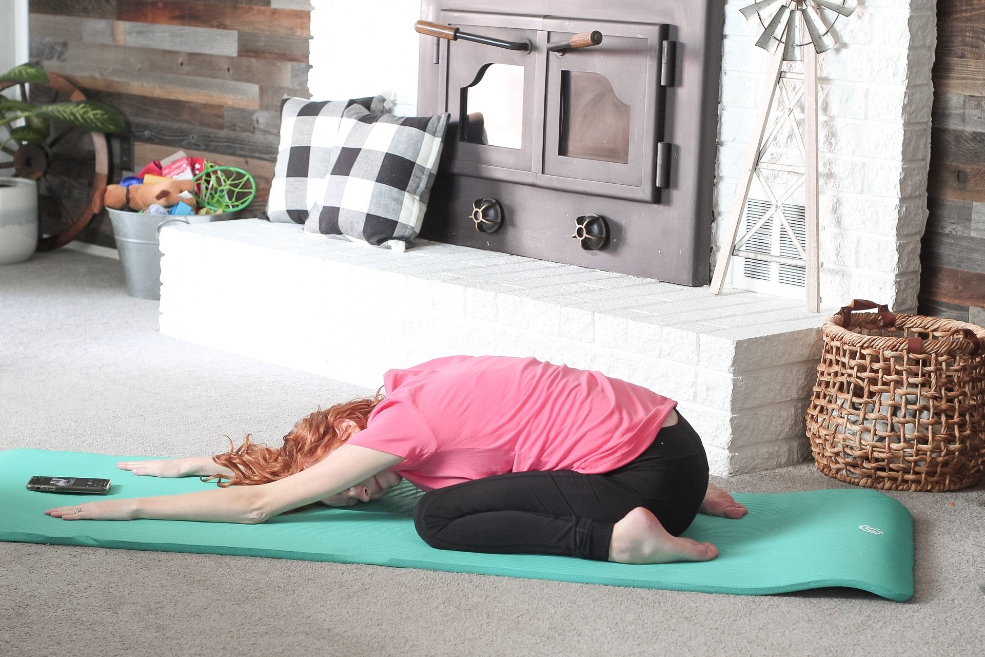 prenatal yoga poses childs pose