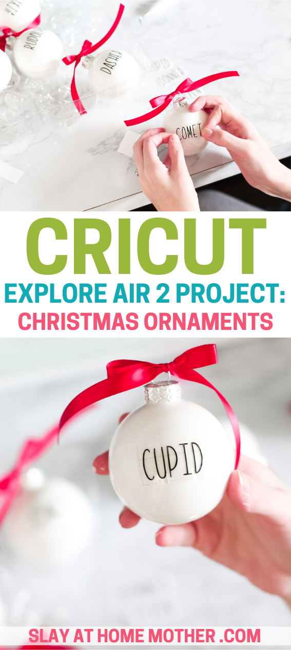 cricut christmas ornaments