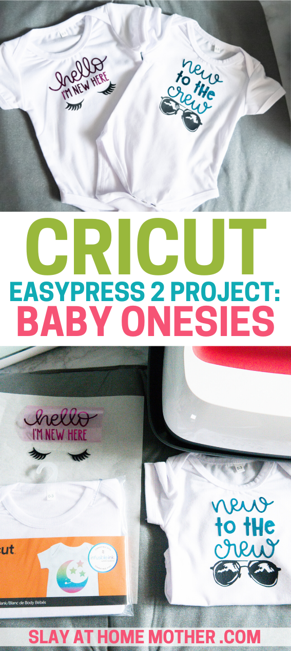 cricut easypress 2 project onesies