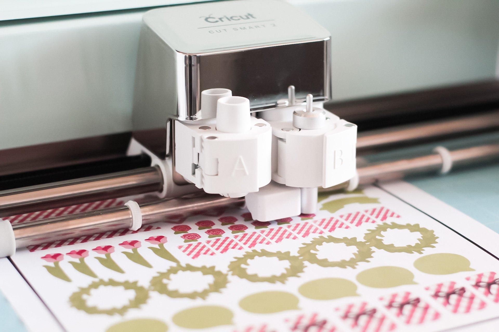 cricut explore air 2 print then cut stickers