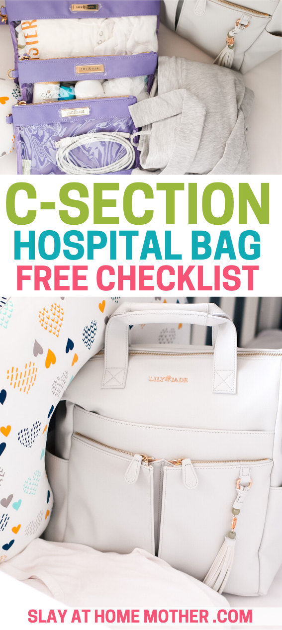 csection hospital bag checklist