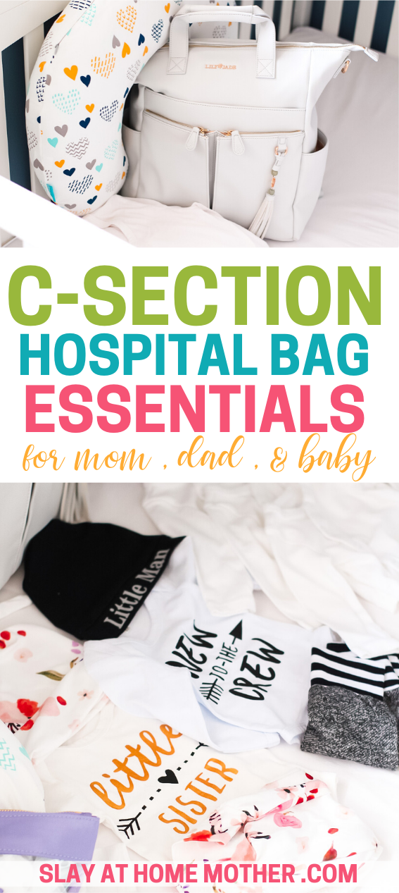 csection hospital bag must haves