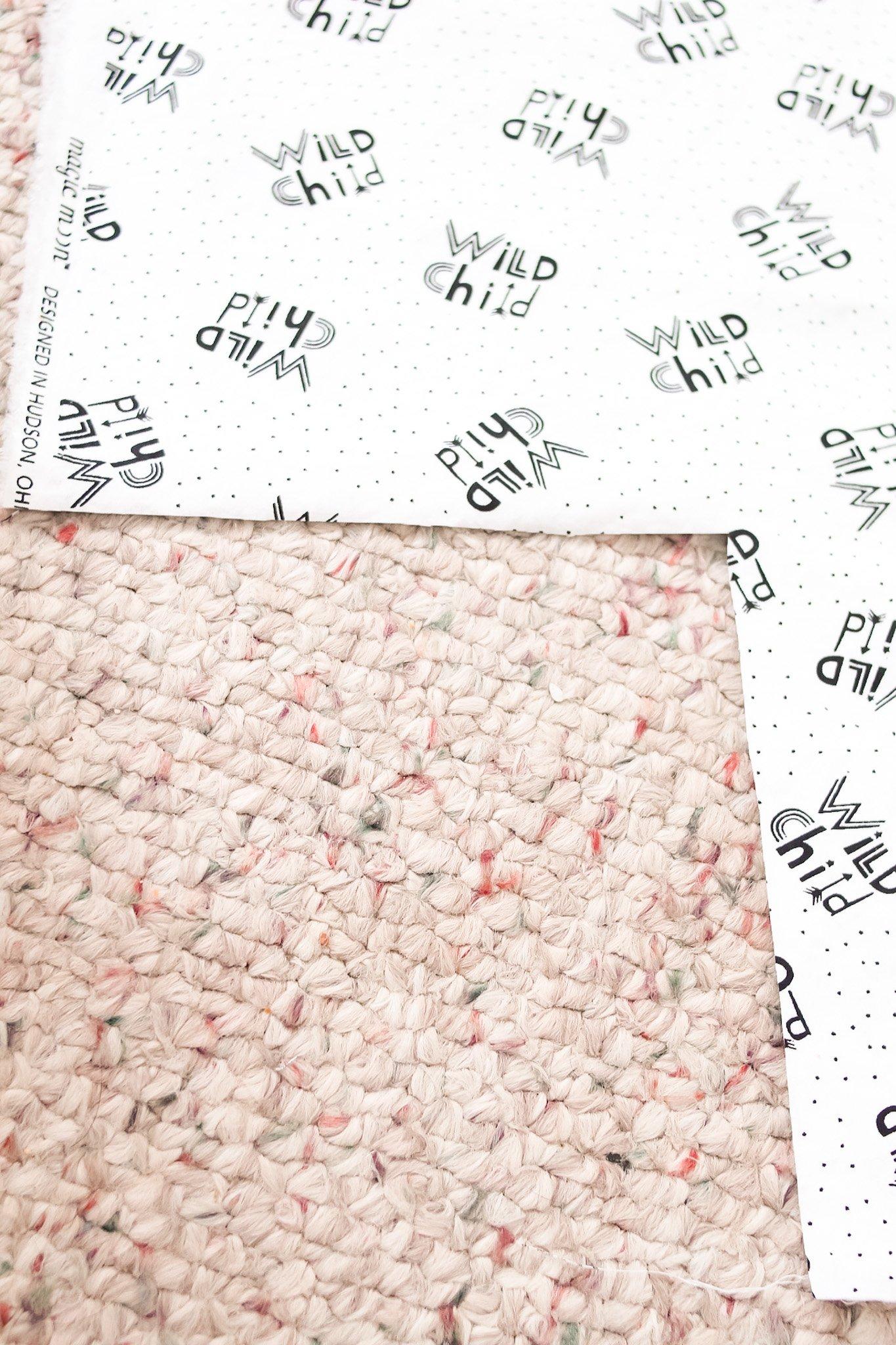 cut corners for diy crib sheets