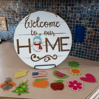 5 Things I Love About My Cricut Explore Air 2 + DIY Home Sign With Interchangeable Pieces