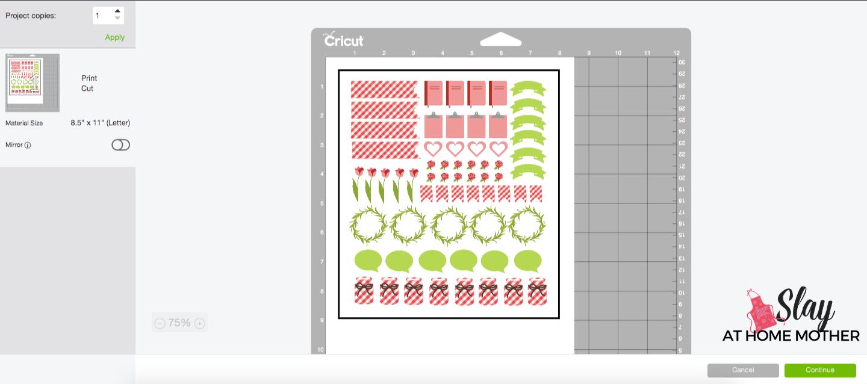 print then cut cricut screenshot