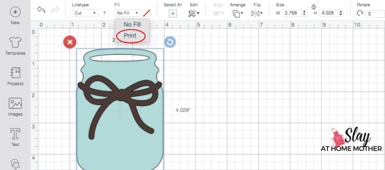 screenshot change image to print