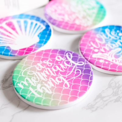 What Is Infusible Ink (Easy DIY Infusible Ink Coasters Tutorial)