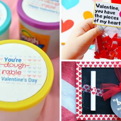 32 Fun & Easy Non-Candy Valentine's Day School Ideas