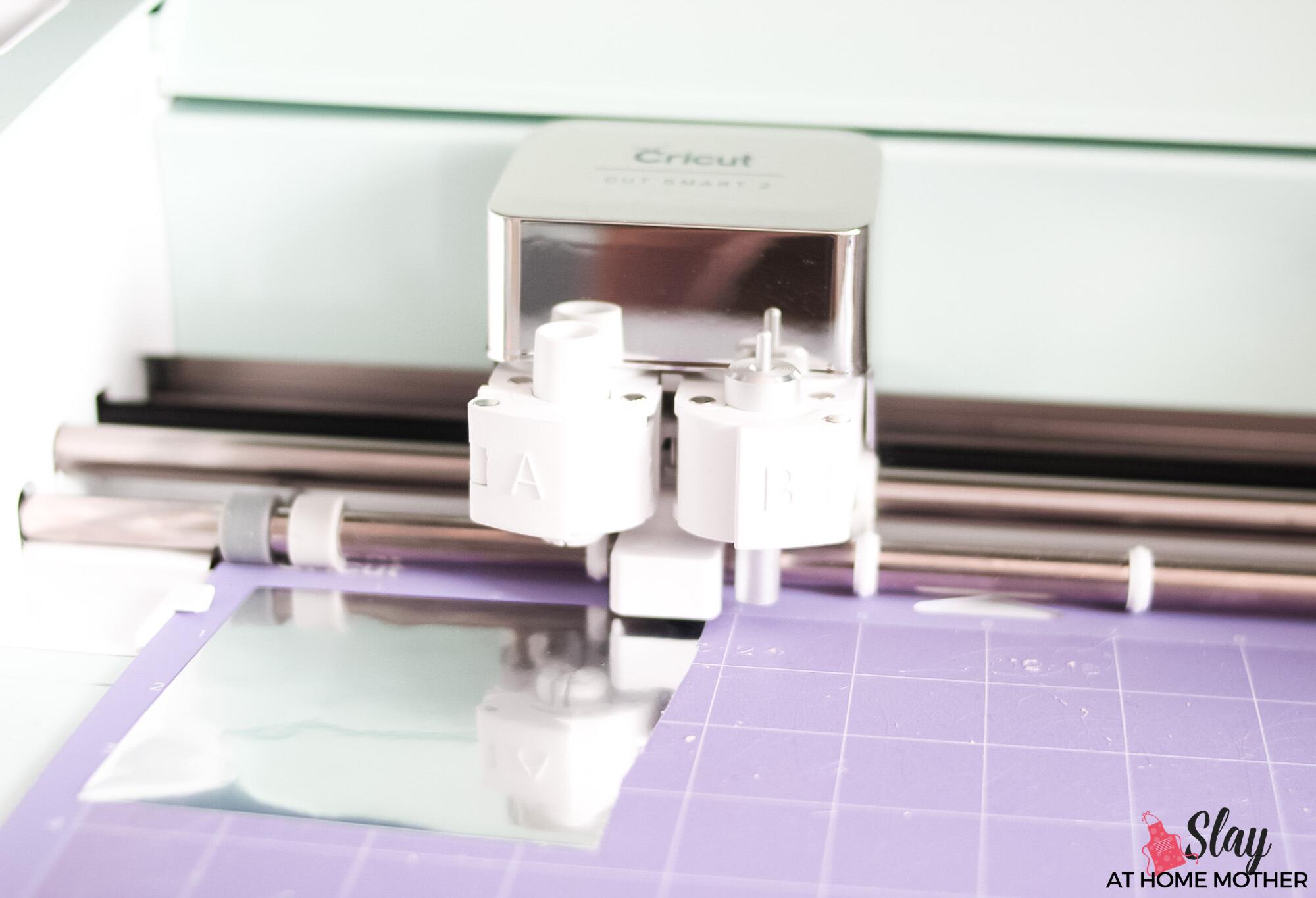 cutting adhesive foil on cricut explore air 2