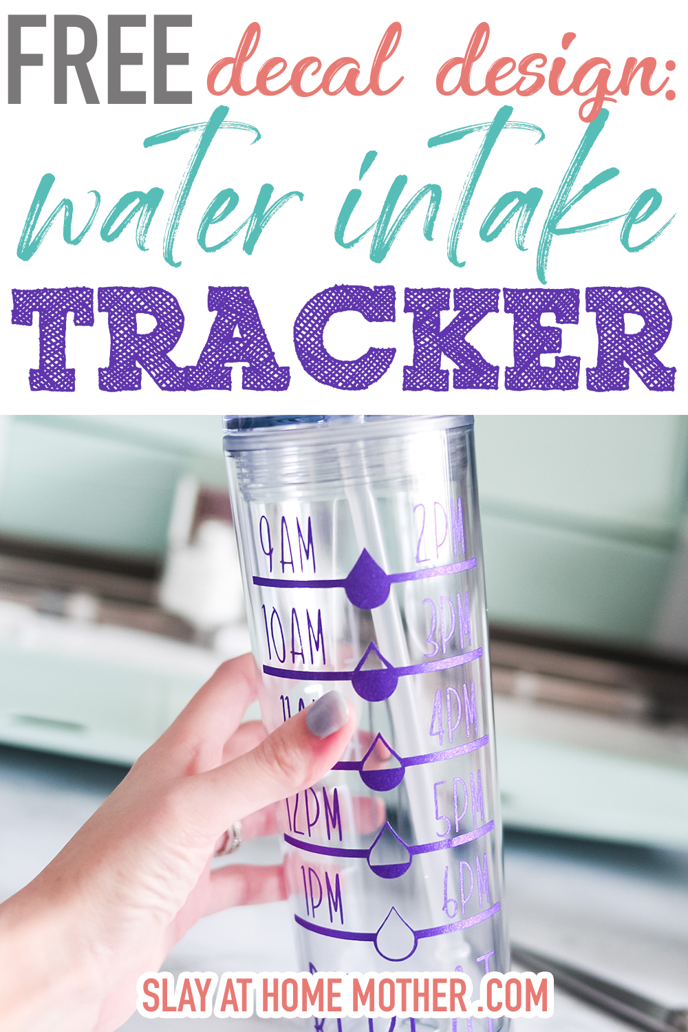 free water tracker decal
