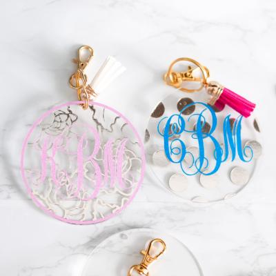 Cricut DIY Keychains – Plus, How To Create A Monogram