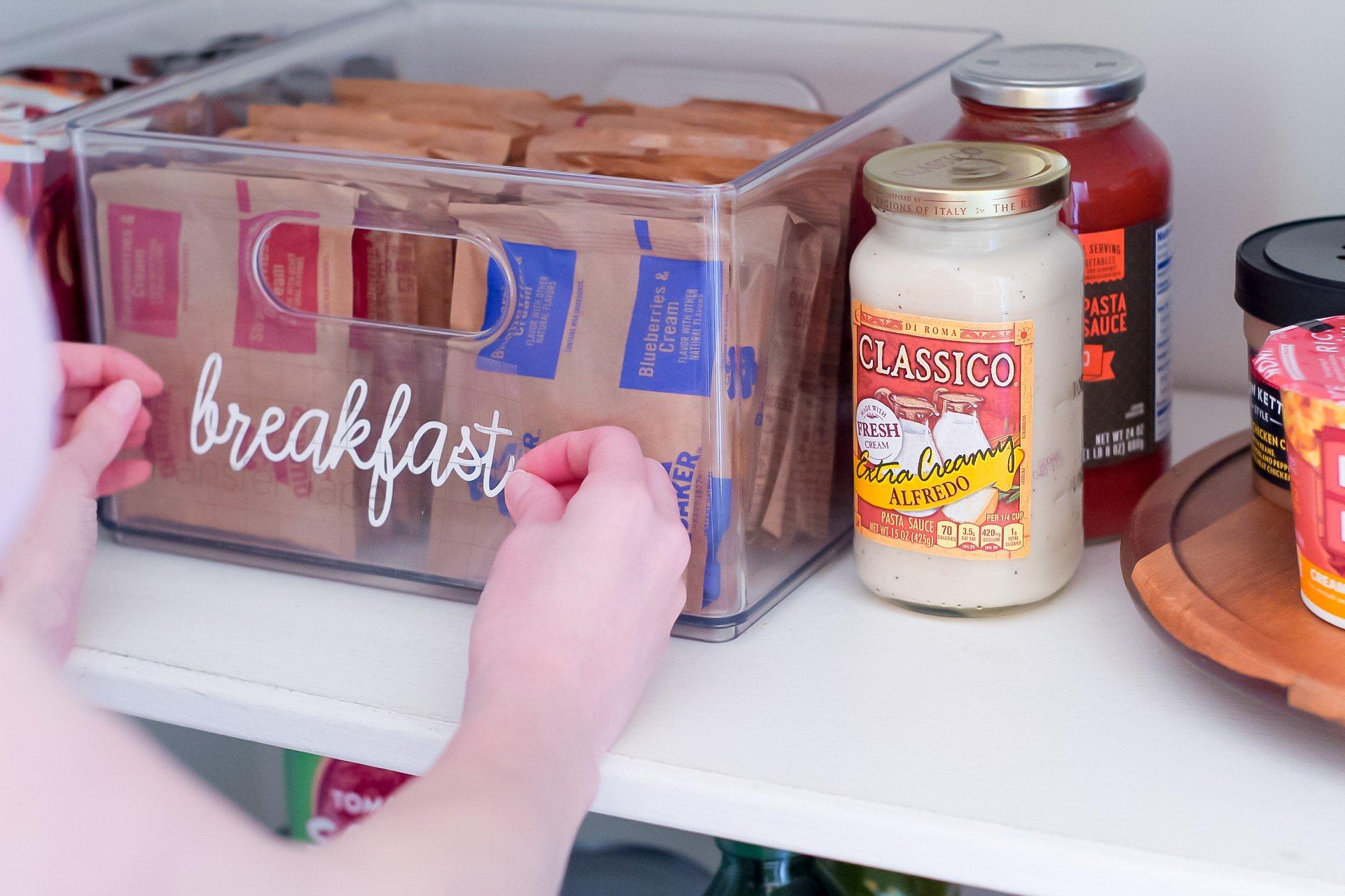 cricut joy pantry labels