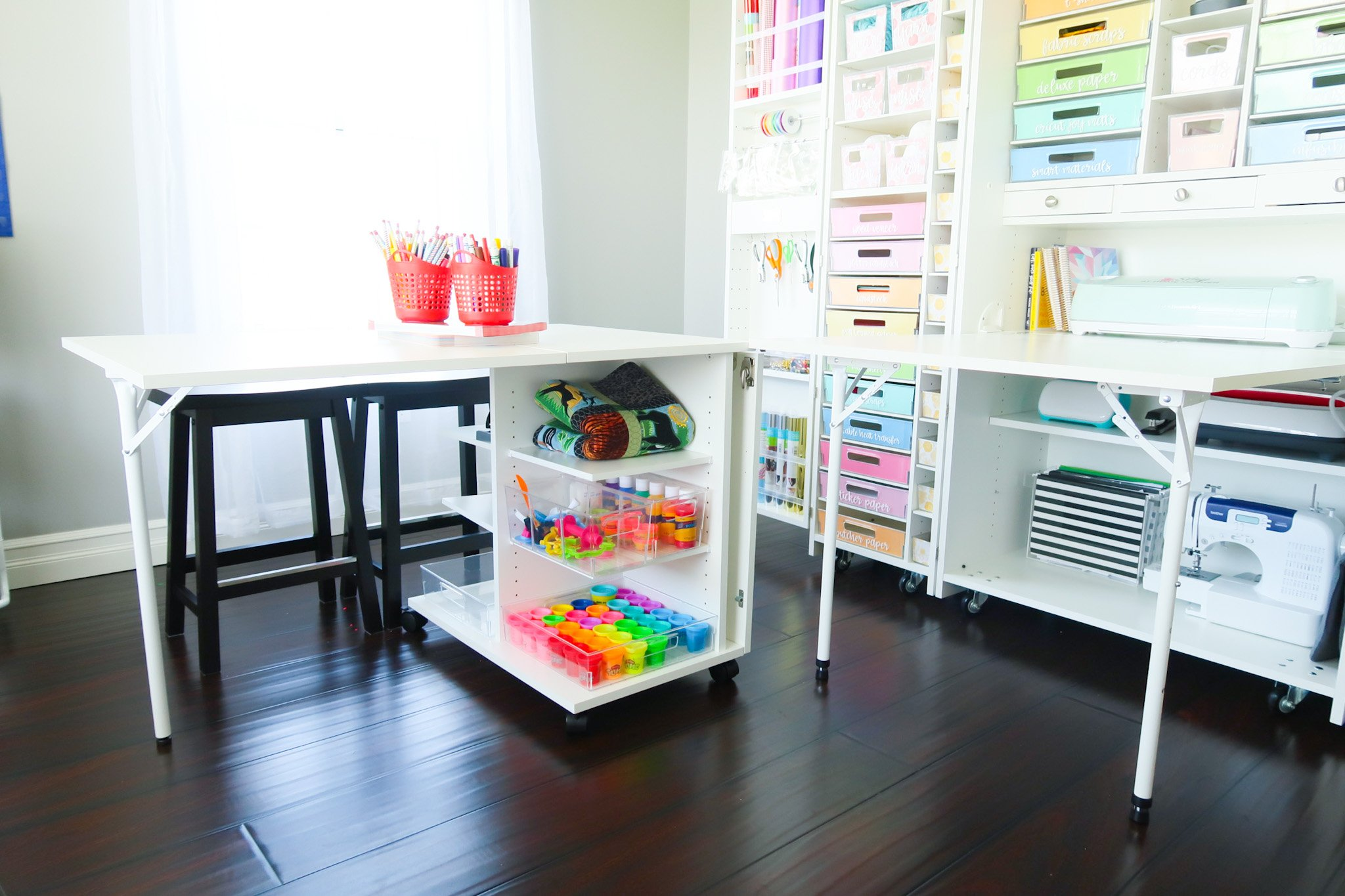 Craft Room Organization with the DreamBox and DreamCart