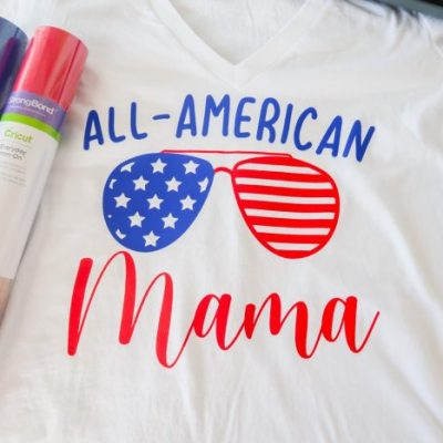 EasyPress 2 Tutorial: DIY Women's 4th Of July Shirt