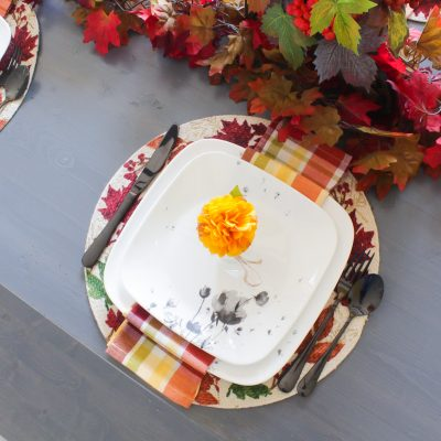 Easy Fall Tablescape With Christmas Tree Shops – 2020