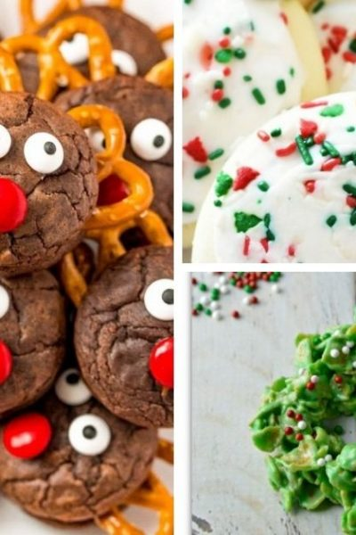 christmas cookie recipes featured image collage